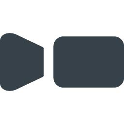 ビデオカメラのアイコン素材 1 商用可の無料 フリー のアイコン素材をダウンロードできるサイト Icon Rainbow
