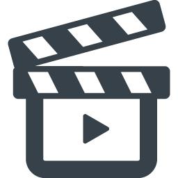 映画のカチンコのアイコン 5 商用可の無料 フリー のアイコン素材をダウンロードできるサイト Icon Rainbow