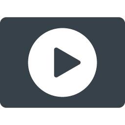 動画 Movie用のボタンのアイコン 9 商用可の無料 フリー のアイコン素材をダウンロードできるサイト Icon Rainbow