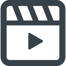 動画 Movie用の再生アイコン 素材 4 商用可の無料 フリー のアイコン素材をダウンロードできるサイト Icon Rainbow