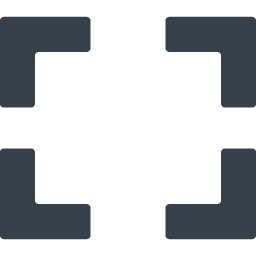 ウィンドウサイズの拡大 全画面 アイコン 6 商用可の無料 フリー のアイコン素材をダウンロードできるサイト Icon Rainbow