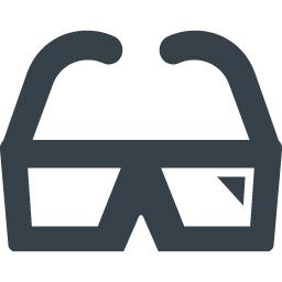 3dメガネのイラストアイコン素材 2 商用可の無料 フリー のアイコン素材をダウンロードできるサイト Icon Rainbow