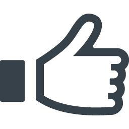 Facebookのいいね風 アイコン素材 1 商用可の無料 フリー のアイコン素材をダウンロードできるサイト Icon Rainbow