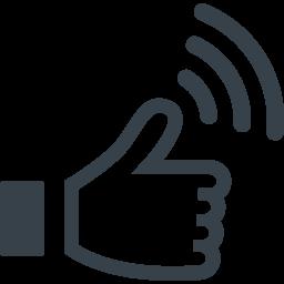 Facebookのいいね風 アイコン素材 2 商用可の無料 フリー のアイコン素材をダウンロードできるサイト Icon Rainbow