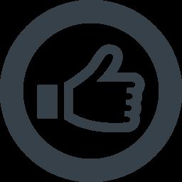 Facebookのいいね風 アイコン素材 4 商用可の無料 フリー のアイコン素材をダウンロードできるサイト Icon Rainbow