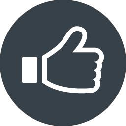 Facebookのいいね風 アイコン素材 5 商用可の無料 フリー のアイコン素材をダウンロードできるサイト Icon Rainbow