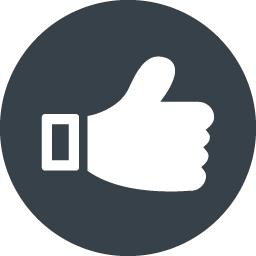 Facebookのいいね風 アイコン素材 6 商用可の無料 フリー のアイコン素材をダウンロードできるサイト Icon Rainbow