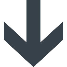 カッチリした矢印アイコン素材 下向き 商用可の無料 フリー のアイコン素材をダウンロードできるサイト Icon Rainbow