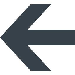 カッチリした矢印アイコン素材 左向き 商用可の無料 フリー のアイコン素材をダウンロードできるサイト Icon Rainbow