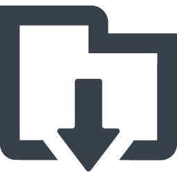フォルダのダウンロードアイコン素材 2 商用可の無料 フリー のアイコン素材をダウンロードできるサイト Icon Rainbow
