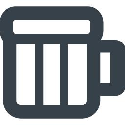 ビールなどお酒が入りそうな飲み物のグラスアイコン 商用可の無料 フリー のアイコン素材をダウンロードできるサイト Icon Rainbow