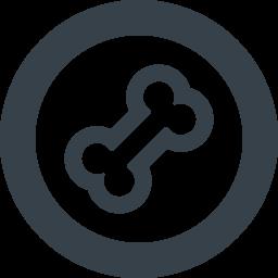 骨のアイコン素材 3 商用可の無料 フリー のアイコン素材をダウンロードできるサイト Icon Rainbow