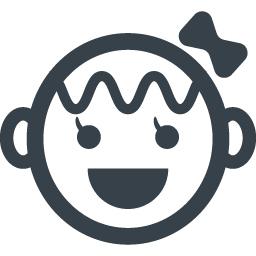 商用利用可能な女の子のイラストアイコン素材 商用可の無料 フリー のアイコン素材をダウンロードできるサイト Icon Rainbow