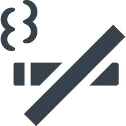 禁煙 喫煙禁止のタバコのアイコン素材 商用可の無料 フリー のアイコン素材をダウンロードできるサイト Icon Rainbow