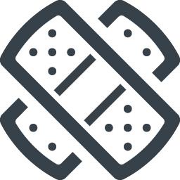 バンドエイドのアイコン素材 6 商用可の無料 フリー のアイコン素材をダウンロードできるサイト Icon Rainbow