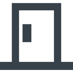 ドアのアイコン素材 商用可の無料 フリー のアイコン素材をダウンロードできるサイト Icon Rainbow