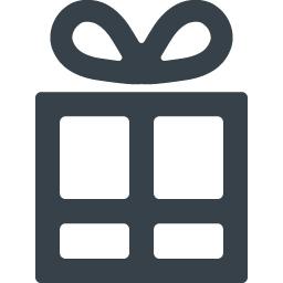 プレゼントボックスのアイコン素材 5 商用可の無料 フリー のアイコン素材をダウンロードできるサイト Icon Rainbow