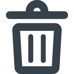 ゴミ箱のフリーアイコン素材 7 商用可の無料 フリー のアイコン素材をダウンロードできるサイト Icon Rainbow
