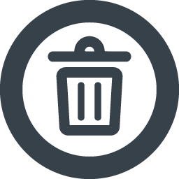 ゴミ箱のフリーアイコン素材 8 商用可の無料 フリー のアイコン素材をダウンロードできるサイト Icon Rainbow