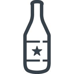 ビール瓶のフリーアイコン素材 3 商用可の無料 フリー のアイコン素材をダウンロードできるサイト Icon Rainbow