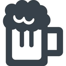 ビールのジョッキのアイコン素材 3 商用可の無料 フリー のアイコン素材をダウンロードできるサイト Icon Rainbow