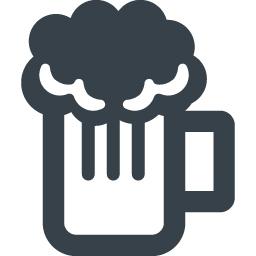 ビールのジョッキのイラストアイコン素材 4 商用可の無料 フリー のアイコン素材をダウンロードできるサイト Icon Rainbow