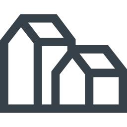 建物のフリーアイコン素材 商用可の無料 フリー のアイコン素材をダウンロードできるサイト Icon Rainbow