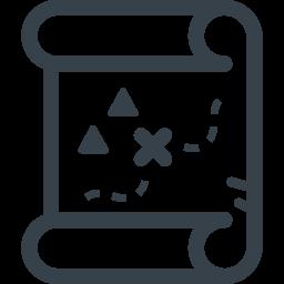 宝の地図の無料アイコン素材 2 商用可の無料 フリー のアイコン素材をダウンロードできるサイト Icon Rainbow