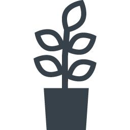 観葉植物の無料アイコン素材 商用可の無料 フリー のアイコン素材をダウンロードできるサイト Icon Rainbow