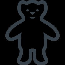 白くまのイラストアイコン素材 商用可の無料 フリー のアイコン素材をダウンロードできるサイト Icon Rainbow