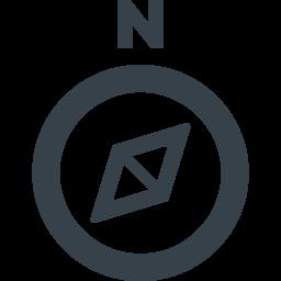 方位磁針のアイコン素材 3 商用可の無料 フリー のアイコン素材をダウンロードできるサイト Icon Rainbow