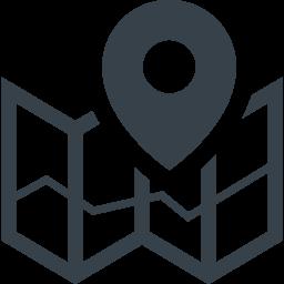 マップとピンのアイコン素材 2 商用可の無料 フリー のアイコン素材をダウンロードできるサイト Icon Rainbow