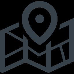 マップとピンのアイコン素材 4 商用可の無料 フリー のアイコン素材をダウンロードできるサイト Icon Rainbow