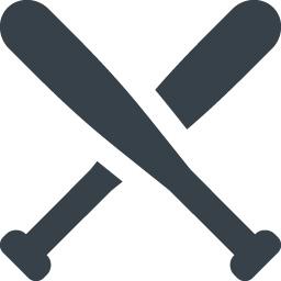 バットのフリーアイコン 商用可の無料 フリー のアイコン素材をダウンロードできるサイト Icon Rainbow