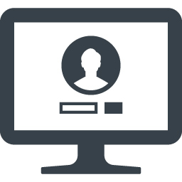 Pcでのログイン画面のアイコン素材 商用可の無料 フリー のアイコン素材をダウンロードできるサイト Icon Rainbow