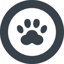 無料でダウンロードできるネコの足跡のアイコン素材 3 商用可の無料 フリー のアイコン素材をダウンロードできるサイト Icon Rainbow