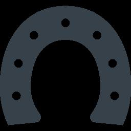 馬の蹄鉄のアイコン素材 1 商用可の無料 フリー のアイコン素材をダウンロードできるサイト Icon Rainbow