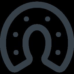 無料でダウンロードできる馬の蹄鉄のアイコン素材 3 商用可の無料 フリー のアイコン素材をダウンロードできるサイト Icon Rainbow