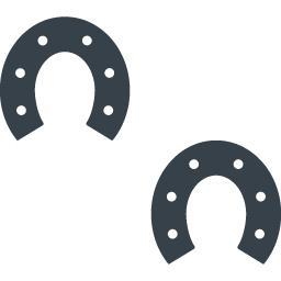 馬の蹄鉄のアイコン素材 4 商用可の無料 フリー のアイコン素材をダウンロードできるサイト Icon Rainbow