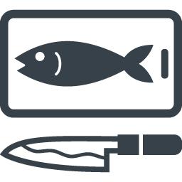魚料理 魚さばきますのイラストアイコン素材 2 商用可の無料 フリー のアイコン素材をダウンロードできるサイト Icon Rainbow