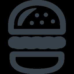 商用利用可能なハンバーガーのアイコン素材 4 商用可の無料 フリー のアイコン素材をダウンロードできるサイト Icon Rainbow