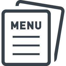 メニュー表のアイコン素材 3 商用可の無料 フリー のアイコン素材をダウンロードできるサイト Icon Rainbow