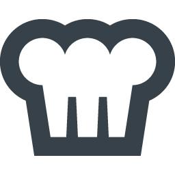コック帽子のアイコン素材 1 商用可の無料 フリー のアイコン素材をダウンロードできるサイト Icon Rainbow