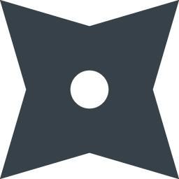 手裏剣のアイコン素材 1 商用可の無料 フリー のアイコン素材をダウンロードできるサイト Icon Rainbow