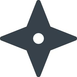 無料でダウンロードできる手裏剣のアイコン素材 2 商用可の無料 フリー のアイコン素材をダウンロードできるサイト Icon Rainbow