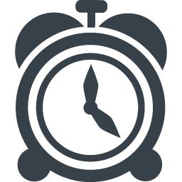 目覚まし時計のアイコン素材 3 商用可の無料 フリー のアイコン素材をダウンロードできるサイト Icon Rainbow