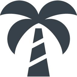 ヤシの木のアイコン素材 商用可の無料 フリー のアイコン素材をダウンロードできるサイト Icon Rainbow
