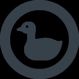 アヒルのアイコン素材 3 商用可の無料 フリー のアイコン素材をダウンロードできるサイト Icon Rainbow