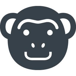 猿のアイコン素材 1 商用可の無料 フリー のアイコン素材をダウンロードできるサイト Icon Rainbow