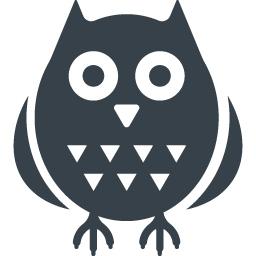フクロウのアイコン素材 2 商用可の無料 フリー のアイコン素材をダウンロードできるサイト Icon Rainbow
